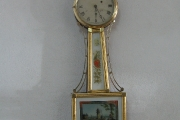 gilt banjo wall clock